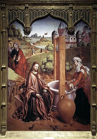 Christ and the Samaritan Woman, Fernando Gallego, 1480-1488