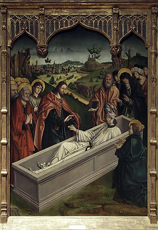 The Raising of Lazarus, Fernando Gallego, 1480-1488