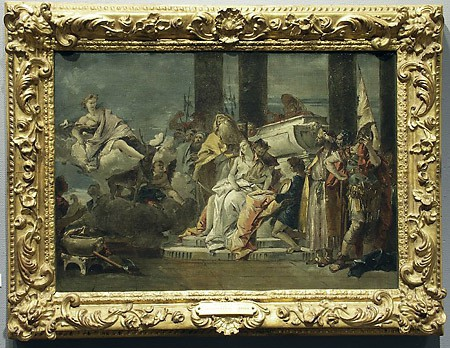 The Sacrifice of Iphigenia, Studio of  Giovanni Battista de Tiepolo, c. 1735