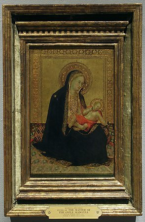 Madonna and Child, Studio of  Bartolommeo Bulgarini, c. 1350