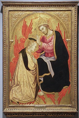 Coronation of the Virgin, Taddeo di Bartolo, c. 1405