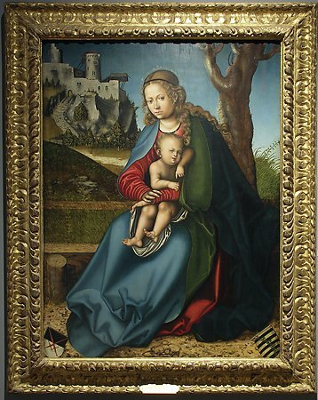 Virgin and Child, Studio of  Lucas Cranach the Elder, c. 1513
