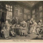 Hogarth, William, Marriage a-la-Mode, plate I, 1745