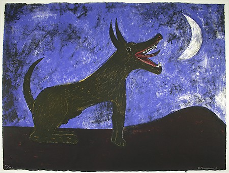 Rufino Tamayo, Moon Dog (Mexican Masters Suite), 1972, lithograph