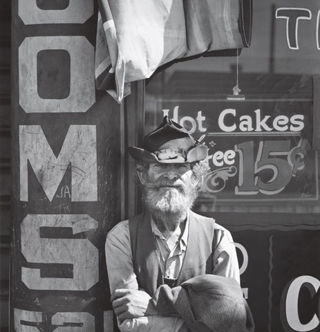 Itinerant, Merced, California, 1937. Photograph by Ansel Adams. Collection Center for Creative Photography, University of Arizona. © The Ansel Adams Publishing Rights Trust