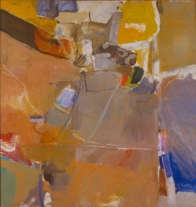 "Diebenkorn, Richard. ""Berkeley #19,"" 1954. Loaned to M. H. de Young Memorial Museum (06/01/2013 - 07/01/2014)"