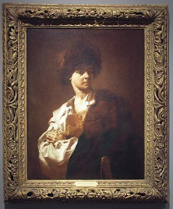 "Piazzetta, Giovanni Battista. ""Portrait of Giacomo in a Fur Hat,"" 1745. Loaned to Oklahoma City Museum of Art (08/01/2010 - 02/15/2011)"