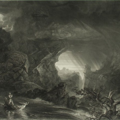 Thomas Cole, The Voyage of Life: Manhood, Engraving/Roulette, 1849-1859