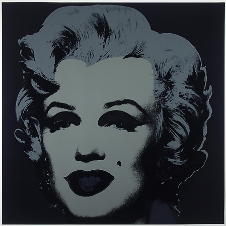 Warhol, Andy, Marilyn Monroe (Marilyn), 1967; Screenprint on paper, Gift of Dr. and Mrs. Ralph Copp.