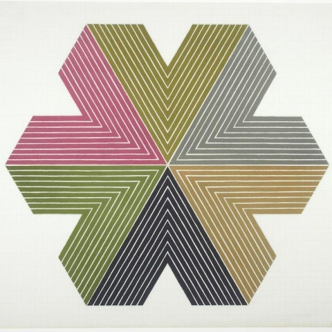 Frank Stella, Star of Persia I, 1967