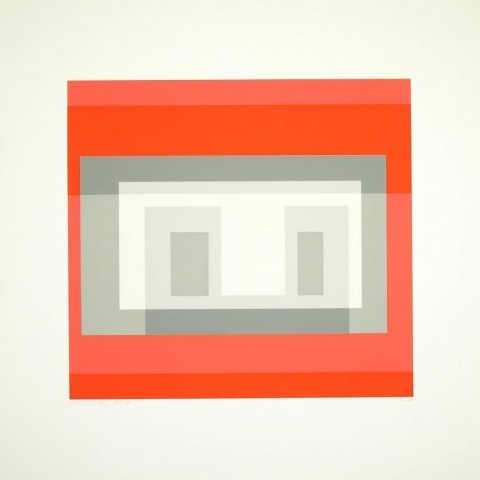"Josef Albers, Variant VI (From ""Ten Variants""), 1966"