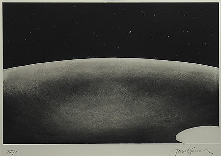 James Turrell, Deep Sky Portfolio, 1985, Aquatint, Museum Purchase with Funds Provided by the Edward J. Gallagher, Jr. Memorial Fund