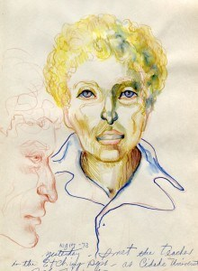 Portrait of an Unknown Woman, 1973