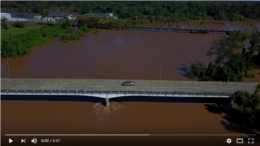Drone Footage of the Brazos River at Richmond part 2