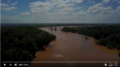 Drone footage of the Brazos River at the Stavinoha Bridge.