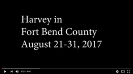 Drone Footage: Harvey in Fort Bend County August 21-31, 2017