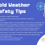 Be ready and stay safe this weekend: cold weather blowing in