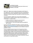 Santa Fe Strong Safety and Security Committee Summary Press Release 6-20-18