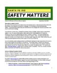 Santa Fe ISD Safe and Secure Schools Update 09/28/2018