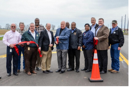 Harlem Road Ribbon-Cutting