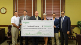 Fort Bend County Receives Rebate for Energy Program with Schneider Electric