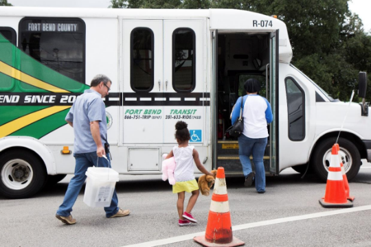 Fort Bend County Transit Fares Waived Thru September 29, 2017