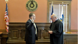 Judge George Noel Lawrence Sworn in as Justice of the Peace, Precinct 3