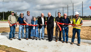 Ribbon-Cutting Held for Completion of Spring Green Roundabout