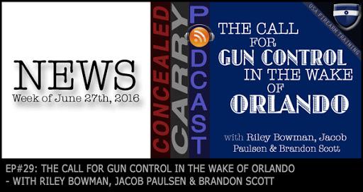 Orlando gun control