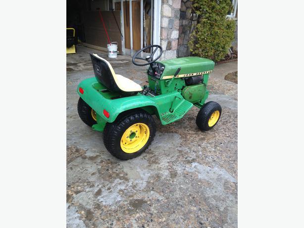 John Deere Garden Tractor North Regina Regina