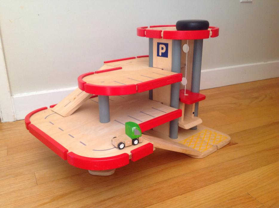 Plan Toys Garage : Plan toys city series wooden parking garage woodworking service online