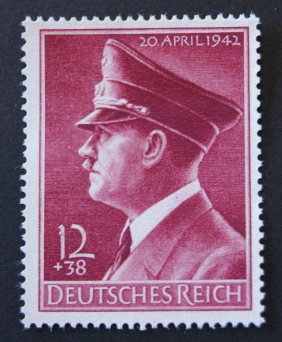 Znaczek o numerze Michel: 813 Rok wydania: 1942 Oficjalny, Czysty **,Komplet,Deutsches Reich / Третий Рейх