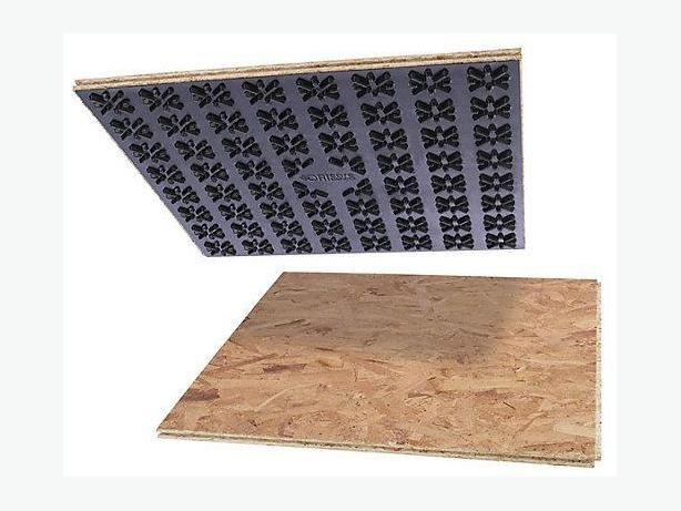 Floor tile insulation