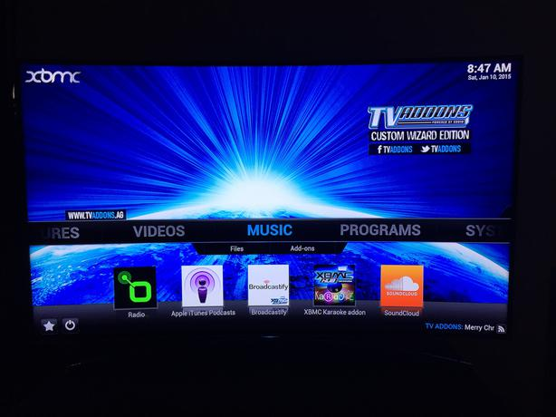 How to install tv guide dixie on mashup