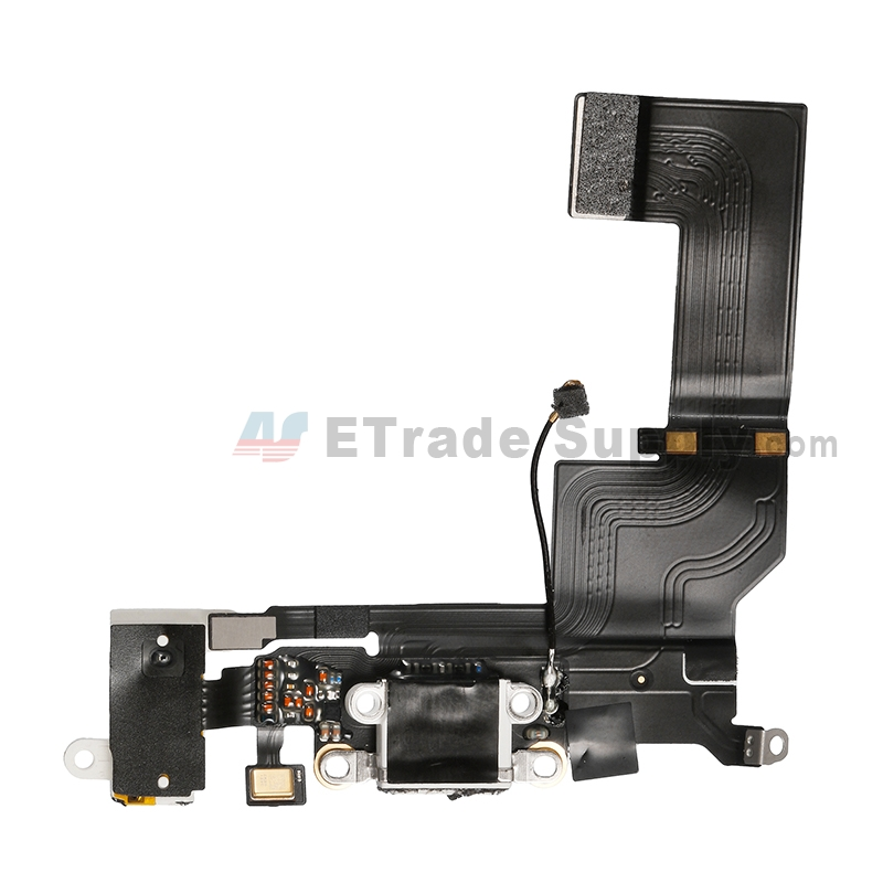 For Apple iPhone SE Charging Port Flex Cable Ribbon Replacement - White - Grade S+