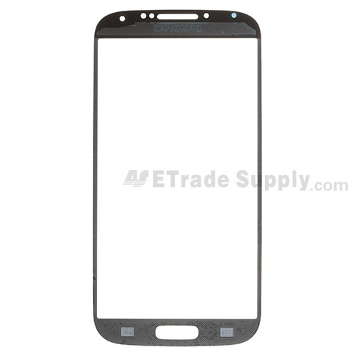 Replacement Part for Samsung Galaxy S4 GT-I9500 Glass Lens - Black - A Grade