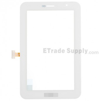 For Samsung Galaxy Tab 7 Plus GT-P6200 Digitizer Touch Screen  Replacement - White - Grade S+