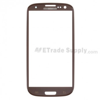 For Samsung Galaxy S III SPH-L710 Glass Lens  Replacement - Brown - Grade S+