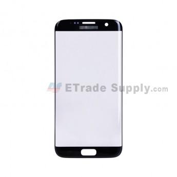 For Samsung Galaxy S7 Edge G935/G935F/G935A/G935V/G935P/G935T/G935R4/G935W8 Glass Lens Replacement - Black - Samsung Logo - Grade S+ (1)