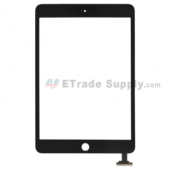 For Apple iPad Mini 2 Digitizer Touch Screen Replacement - Black - Grade R