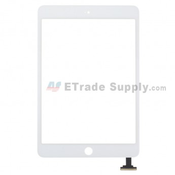 For Apple iPad Mini 2 Digitizer Touch Screen Replacement - White - Grade R