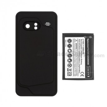 For HTC Droid Incredible Extended Life Battery with Over-sized Battery Door Replacement (Verizon Wireless) (2400 mAh) - Grade R