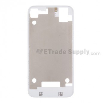 For Apple iPhone 4S Rear Housing Inner Plate Replacement - White - Grade S+
