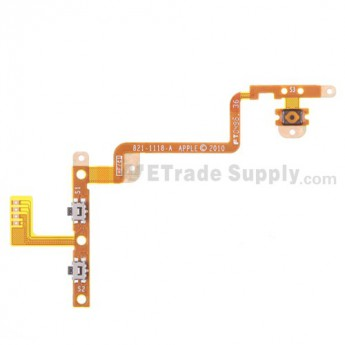 For Apple iPod Touch 4th Generation Power Button and Volume Button Flex Cable Ribbon Replacement - Grade S+