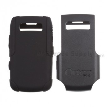 For BlackBerry Bold 9700 OtterBox Impact Case ,Black - Grade S+