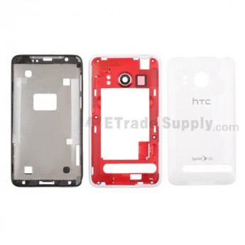 For HTC Evo 4G Housing Replacement (Sprint) ,White - Grade S+
