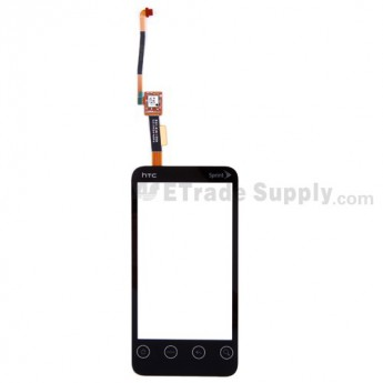 For HTC EVO Shift 4G Digitizer Touch Screen without Adhesive  Replacement - Grade S+