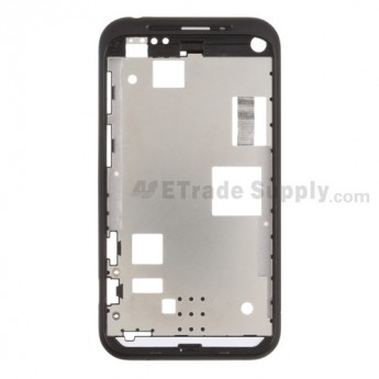 OEM HTC Incredible S Front Housing ,Black, Black Mesh Cover