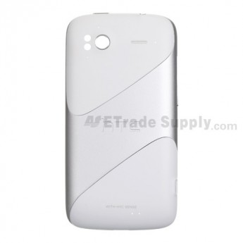 For HTC Sensation 4G Rear Housing Replacement (T-Mobile) ,White - Grade S+