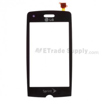 For LG Rumor Touch LN510 Digitizer Touch Screen without Adhesive Replacement ,Purple - Grade S+